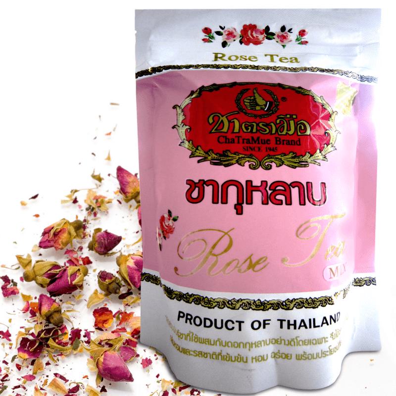 Chatramue Brand Rose Tea Mix Нежный чай с лепестками розы, 150 гр