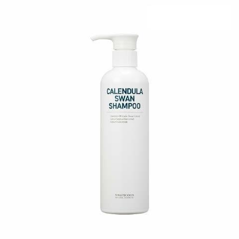 Swanicoco Calendula swan shampoo, Профессиональный восстанавливающий шампунь с календулой, 500мл