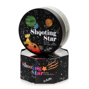 Gaston Shooting Star Black Eye Gel Patch, Успокаивающие патчи, 60 шт
