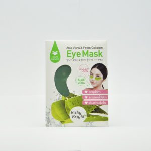 Baby Bright Aloe Vera & Fresh Eye Mask Патчи для глаз с алоэ, 1 пара
