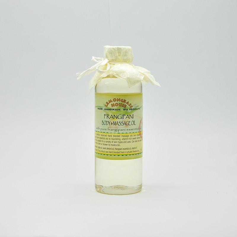 Масло для тела и массажа «Франжипани», 120 мл