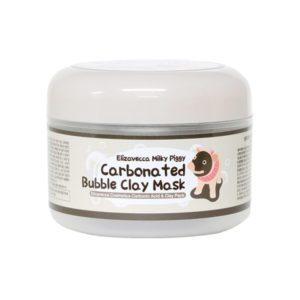 Elizavecca Сarbonate Bubble Clay Mask, Маска для лица очищающая пузырьковая с глиной, 100 гр