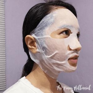 Hyggee All-in-One Tightening & Firming Mask, Антивозрастная маска для лица и подбородка, 1 шт