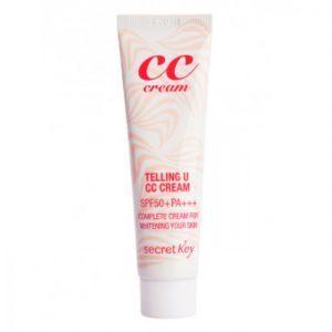 Sekret Key Teeling U CC cream,  СС крем, 30 мл