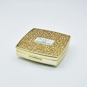 Deoproce Geo Gold two-way cake,  Компактная пудра на основе золота № 21, 15 гр