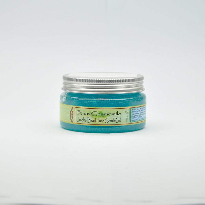 Гель-Скраб для лица с гранулами жожоба «Голубая ромашка», 100 гр