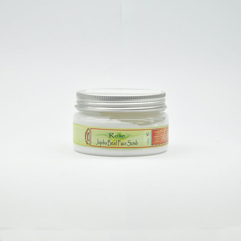 Скраб для лица с гранулами жожоба «Роза», 100 гр