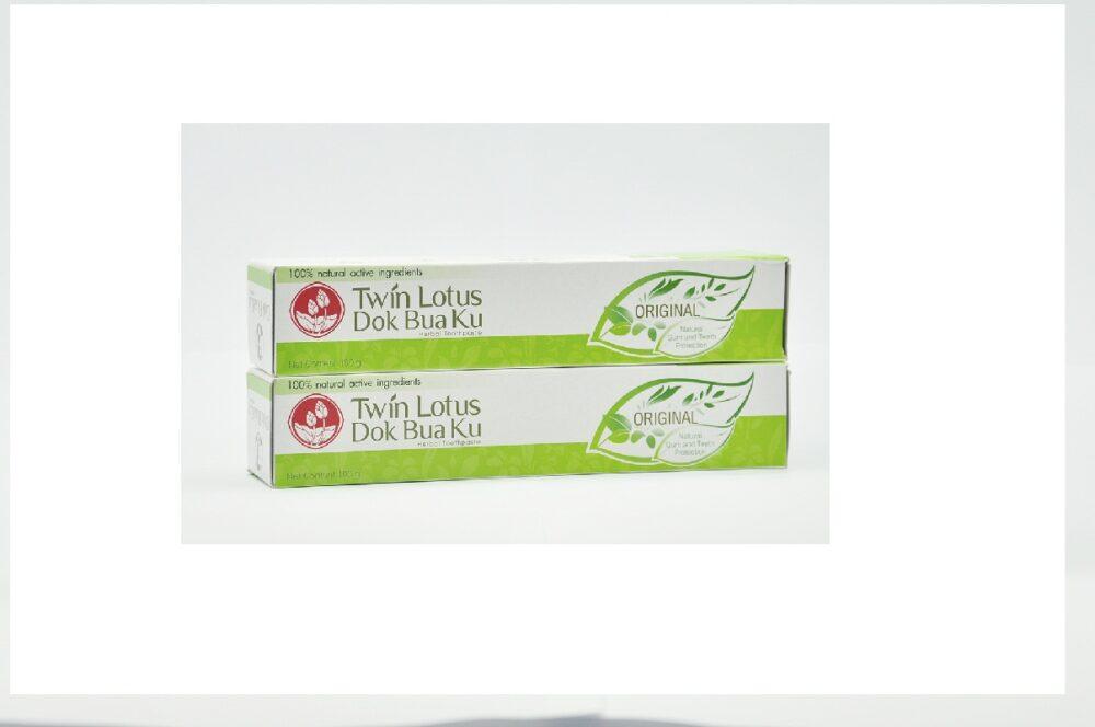 Twin Lotus Original Herbal Toothpaste Лечебная паста для десен,100 гр