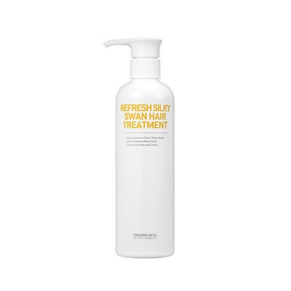 Swanicoco Refresh silky swan hair treatment, Восстанавливающая шелковая маска-кондиционер для волос, 500мл