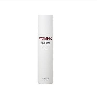 Swanicoco Bitamin C calm down skintoner, Тонер для лица с витамином С, 120 мл