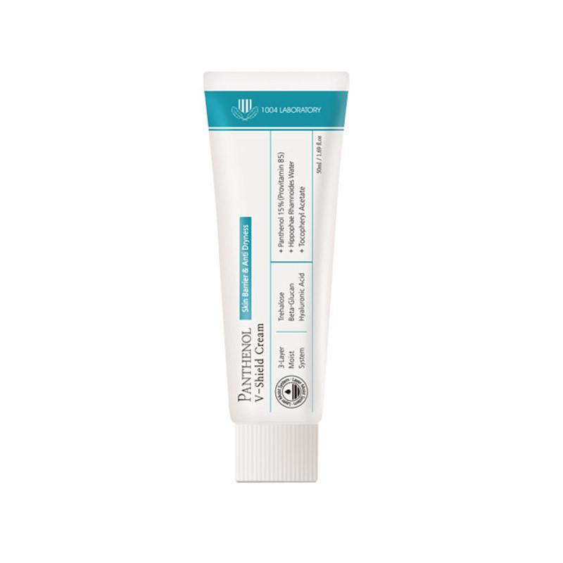 1004 Laboratory Panthenol v-shield cream, Крем для лица защитный с пантенолом, 50 гр