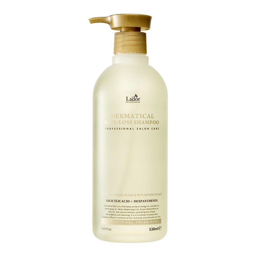 La'dor Dermatical Hair-loss Shampoo, Шампунь для чувствительной кожи головы, 530 мл