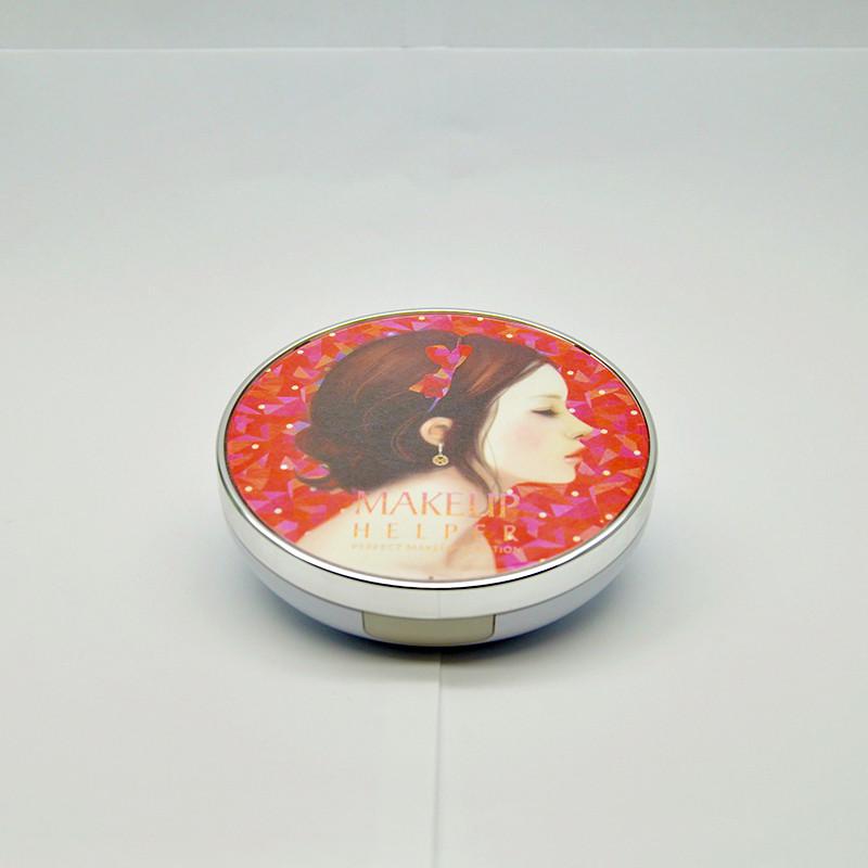 Makeuphelper Шелковистая компактная пудра №23, 24 гр
