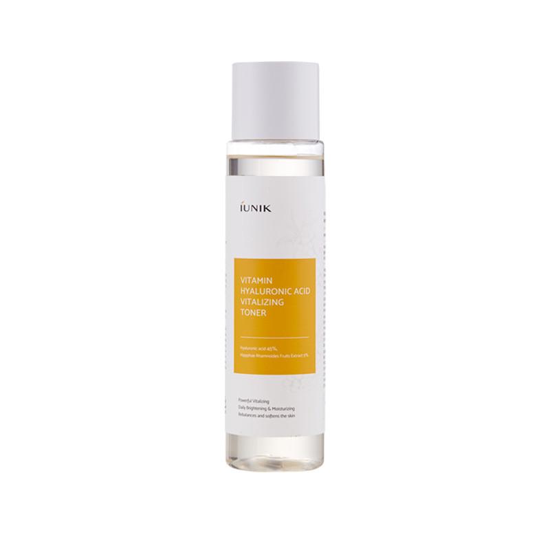 Iunik Vitamin Hyaluronic acid vitalizing, Тонер для лица с прополисом и гиалуроновой кислотой, 200 мл