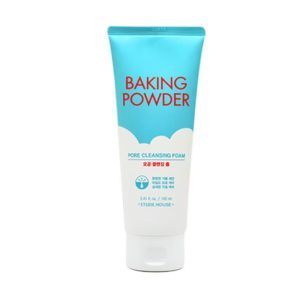 Etude House Baking Powder Pore & BB Deep Cleansing Foam, Пенка для умывания с содой для смывки ВВ