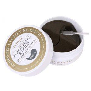Petitfee Black Pearl & Gold Hydrogel Eye Patch, Патчи для век с черным жемчугом, 60 мл