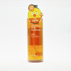 Hanskin Cleansing Oil & Blackhead Aha, Гидрофильное масло с АНА кислотой, 300 мл