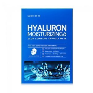 Some By Mi Multi Hyaluron Ampoule Mask, Ампульная маска с гиалуроновой кислотой, 1 шт