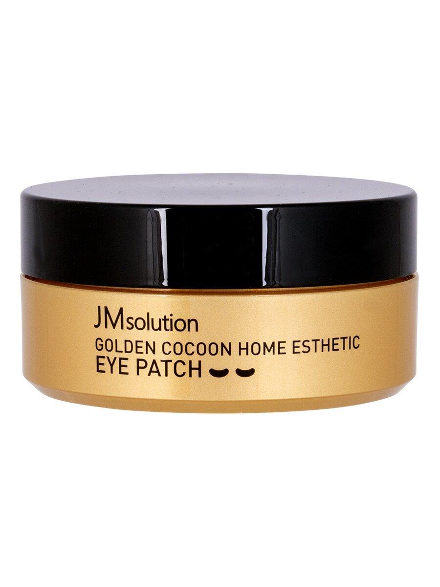 Jmsolution golden cocoon home esthetic eye patch, Патчи пептидные с золотым коконом, 60 шт (Малый размер)