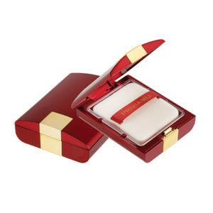 Privia Skin Recovery shiny powder pact №21 SPF30 PA+++, Шелковистая компактная пудра