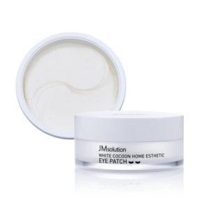 Jmsolution Silky cocoon home esthetic eye patch, Патчи с экстрактом белого кокона и жемчуга (малый размер), 60 шт