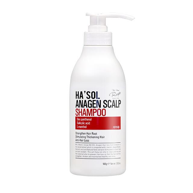 Ha'sol Anagen Scalp Shampoo, Шампунь против выпадения волос, 500 мл
