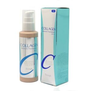 Enough Collagen moisture foundation spf15, Тональная основа с коллагеном, 13 тон, 100 гр