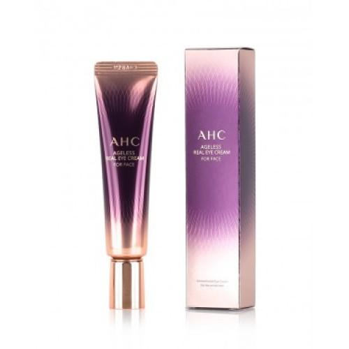AHC Ageless real eye cream for face, Антивозрастной пептидный крем для глаз, 40 мл