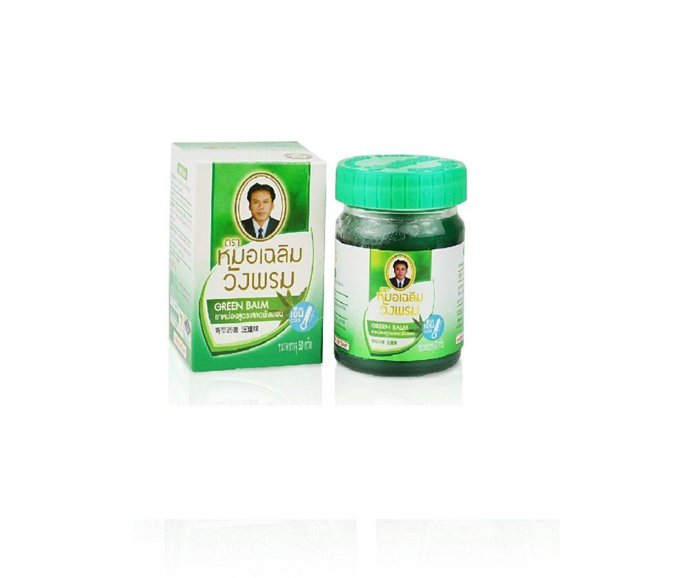 Wangprom Зеленый бальзам, 50 гр