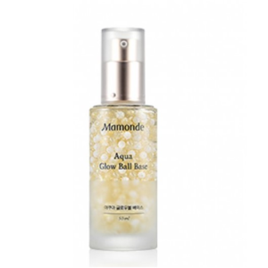 Mamonde Glow Ball Base 02, База-сыворотка под макияж золотая, 50 мл