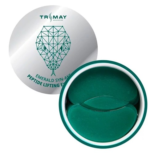 Trimay Emerald Synake Peptide Lifting Eye Patch, патчи для глаз со змеиным пептидом