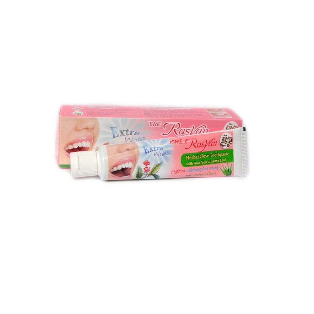 Isme Rasyan Herbal Glove Toothpaste, Зубная паста отбеливающая с гвоздикой, 100 гр