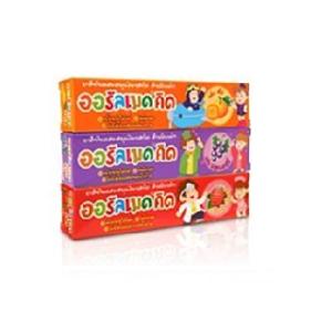 Oralmed Kid Herbal Toothpaste, Детская зубная паста Клубника, 40 гр