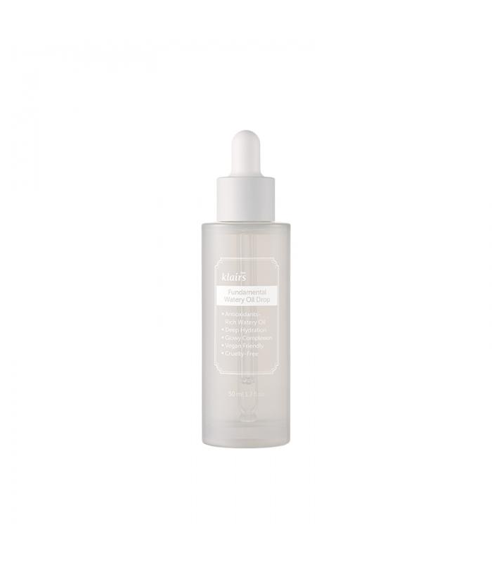 Klairs Fundamental Watery Oil Drop, Интенсивная сыворотка для сияния кожи антивозрастная, 50 мл