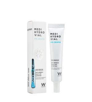 Wonjin Medi Hydro Vial Eye Cream, Крем для глаз на основе увлажняющего лифтинг-комплекса, 30 мл