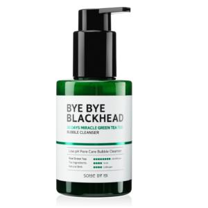 Some By Mi Bye Bye Blackhead, Пузырьковая маска-пенка для умывания с ВНА кислотой, 120 гр