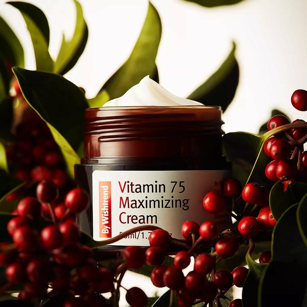 By Wishtrend Vitamin 75 Maximizing Cream, укрепляющий витаминный крем 75ml