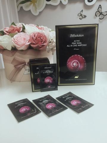 Jmsolution Миниатюра сыворотки розовая улитка, упаковка 30 штук