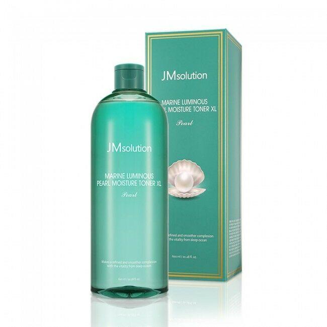JmSolution Marine Luminous Pearl Sun Cream Pearl,Тонер для сияния кожи с морскими минералами,600 мл