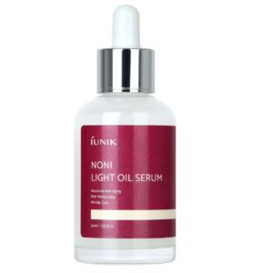 Iunik Noni Light oil Serum, Сыворотка для лица с маслом Нони, 50 мл