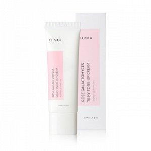 Iunik Rose Galactomyces Silky Tone Up Cream, Крем для лица роза галактомис, 60 мл