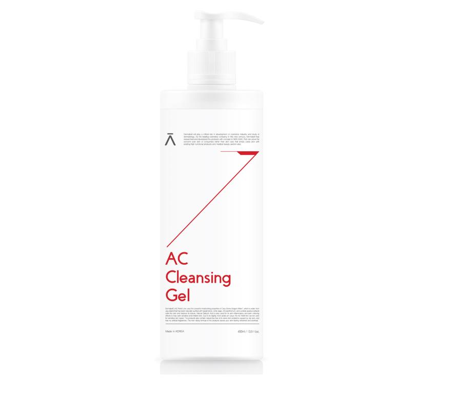 Dermabell AC Cleansing Gel, Антибактериальный гель для умывания для проблемной кожи, 400 мл