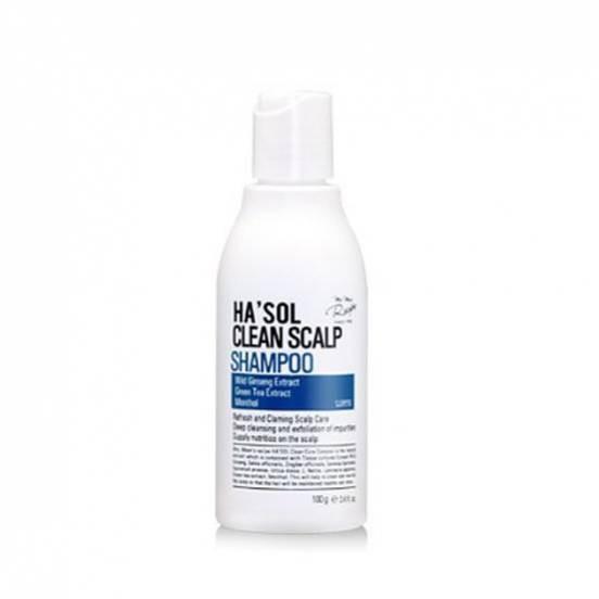HA'SOL Clean Scalp Shampoo, Шампунь для кожи головы, 100 мл