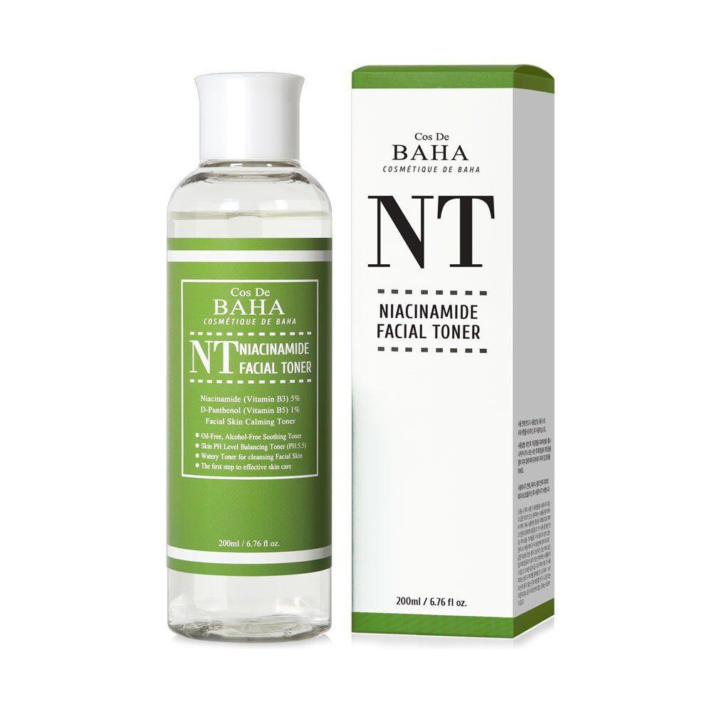 Cose De BAHA NT Niacinamide Toner, Тонер для лица с ниацинамидом, 200 мл