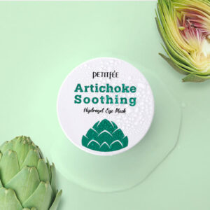 Petitfee Artichoke Soothing Hydrogel Eye Mask, Патчи гидрогелевые с артишоком
