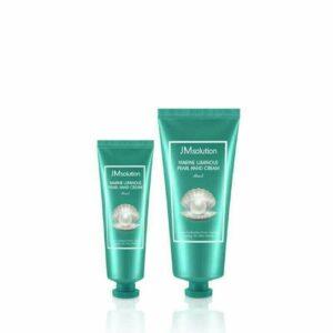 Jmsolution Marine Luiminous Pearl Hand Cream, Крем для рук с жемчугом, 100гр+50гр