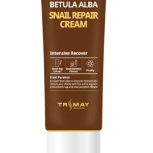 Trimay  Betula Alba Snail Repair Cream, Крем для лица с улиткой,50 мл
