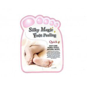 Calmia Silky Magic Foot Peeling (Quick Type), Пилинг-носочки