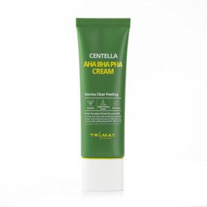 Trimay Centella AHA BHA PHA Cream, Крем для лица с тремя видами кислоты, 50 мл