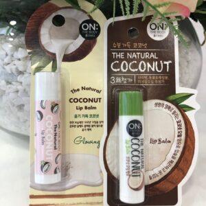 On:The Body Coconut Lip Balm, Кокосовый бальзам для губ
